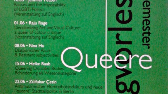'Decolonising Art and Visual Culture - a qtipoc critique' Lecture